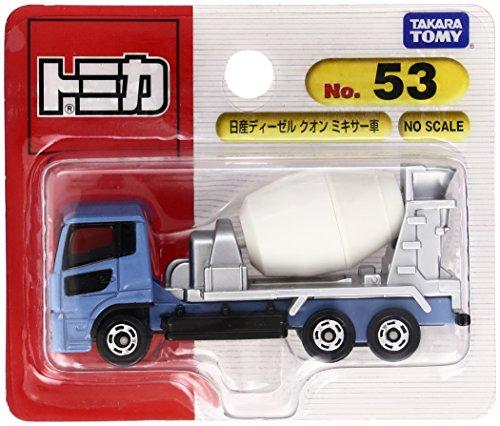 トミカ No.053 日産ディーゼル クオン ミキサー車 (ブリスター)