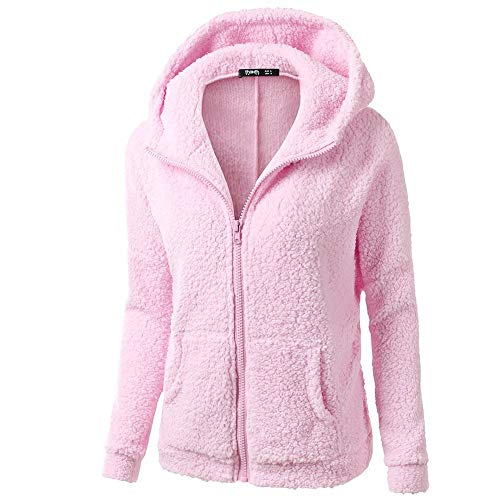 2020 Faux Fur Sale Elegant Plus Size Sweatshirts Cardigan Open Front Winter Fleece Coat Women Zipper Warm Fashion Hoodies 2019 Solid Long Sleeve Jackets Outwear Cotton Pocket Wool Fluffy Fuzzy Sexy