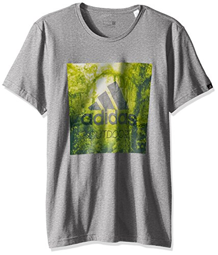 adidas–Camiseta para Hombre, Hombre, Color Gris, tamaño Large