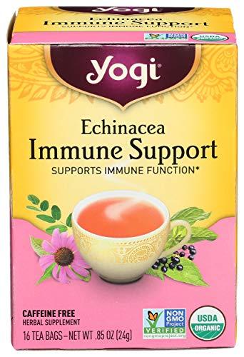 Yogi Tea, Echinacea Immune Support, 16 Count