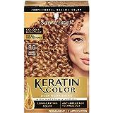 Schwarzkopf Keratin Color, Color & Moisture Permanent Hair Color Cream, 9.00 Honey Blonde