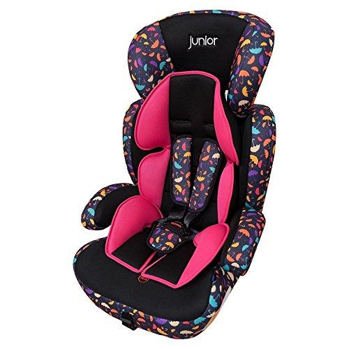 Petex 44440012Seggiolino per bambini Comfort 602HDPE secondo la norma ECE R44/04, Multicolore