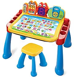 this activity desk has ended up being one of the greatest gifts we ever got my son it actually is on my list of best gift ideas for 2 year old boys and
