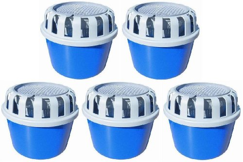 5 x Luftentfeuchter Box für loses Raumentfeuchter / Luftentfeuchter Granulat