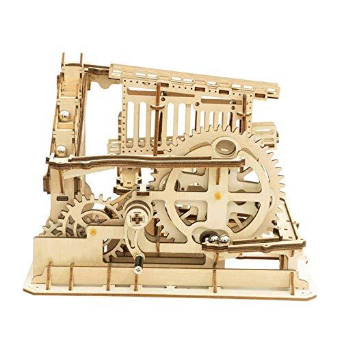 Robotime Mechanisches 3D Puzzle Spiel | Woodcraft Construction Moving Kit | Adult Craft Set (Untersetzer)