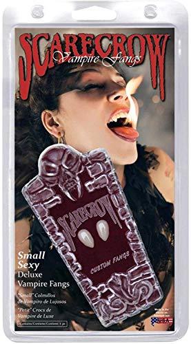 Smiffy's Smiffys Love Bite, si fissa sui denti con adesivo Donna, Bianco, 36801