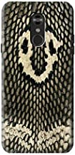 R2711 King Cobra Snake Skin Graphic Printed Case Cover for LG Q Stylo 4, LG Q Stylus