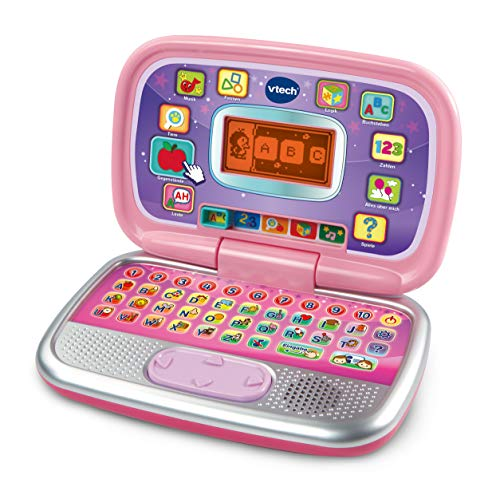 VTech 80-196354 My Preschool Laptop Pink Learning Laptop Multi-Coloured