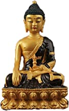 ZGPTX The East Does Not Move As 閦 As to Lower The Magic Buddha Statue Mizong with Buddha Resin Painted Buddha Statue