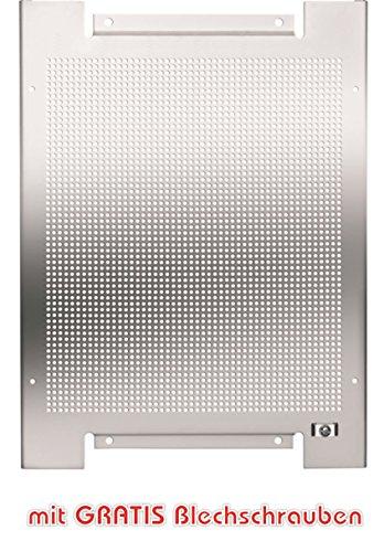 Lochblech Montageplatte 300x400mm verzinkt