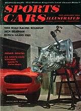 SPORTS CARS ILLUSTRATED Magazine JANUARY 1960 Austin Healey & CORVETTE