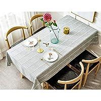 ヨーロッパの牧歌的なスタイルのテーブルクロス高品質の綿とリネン刺繍パターンユニバーサルカバータオル (Color : Gray, Size : 110*170CM)