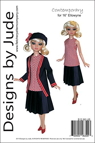 Contemporary Pattern for 16' Ellowyne Wilde Dolls Tonner
