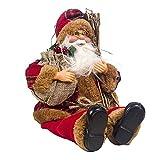 LXMK Weihnachten Weihnachten Neujahr Weihnachtsmann Sitzen Weihnachten Große Puppe Stoff Kind...