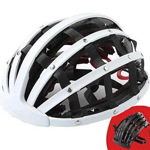 Fahrradhelm, Sport Faltbarer Fahrrad-Fahrradhelm 56-62 cm 3 einstellbare Öffnungen, Geeignet für Männer und Frauen