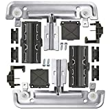 W10712395 Dishwasher Upper Rack Adjuster Kit, Dish-Washing Machine UPGRADE Metal Kit Compatible with Whirlpool Kenmore Kitchenaid Replaces W10712395VP W10350375 W10250159 PS10065979 AP5957560