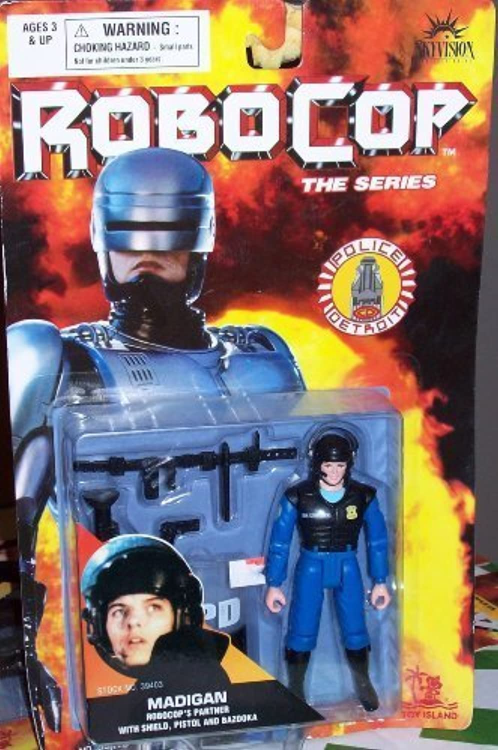 Robocop The Series Police Detroit  Madigan by Robocop