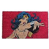 BricoLoco. Felpudo Original Wonder Woman DC Comics. Felpudo de Coco y PVC.