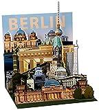 Berlin Pop Up 3D PopShot Städtekarte Grußkarte Karte