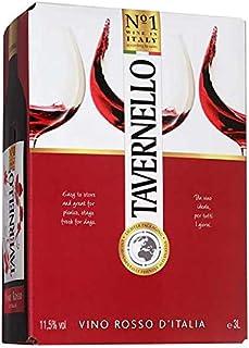 サントリー タヴェルネッロ ロッソ イタリア [BIB] 3L 3000ml x 4本[ケース販売] [サントリー/イタリア/赤ワイン/TVIR3N]