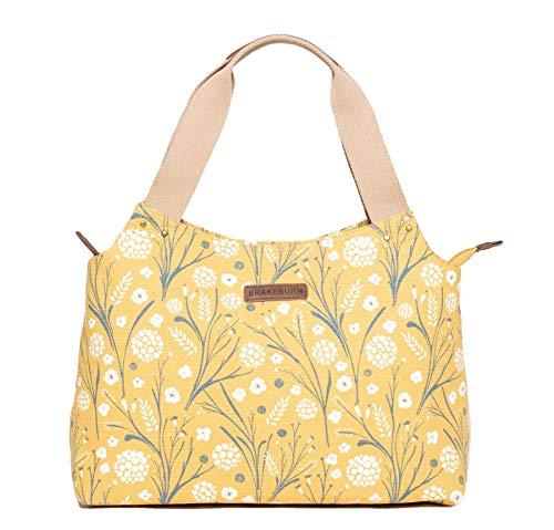 Brakeburn Pusteblume Design Umhängetasche Style Handtasche Gelb