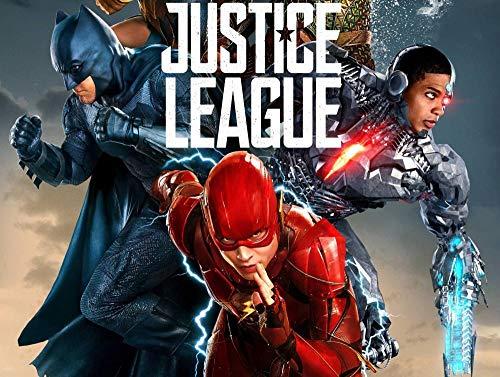 AASSS Justice League poster,5D Diamante Pintura por Número Kit,Bricolaje Diamond Painting Rhinestone Bordado de Punto de Cruz Artes Manualidades Lienzo Pared Decoración(60x40cm) Sin marco