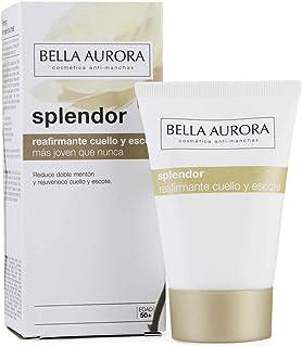 Bella Aurora Splendor Crema Facial Reafirmante Cuello y Escote Hidratante para Mujer Anti-Edad Tratamiento Anti-Arrugas pa...