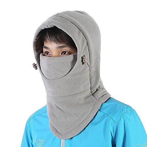 Jlong Kids Winter Hats Balaclava Ski Mask Cycling Cap Double Layer Windproof Outdoor Scarf Adjustable Cap