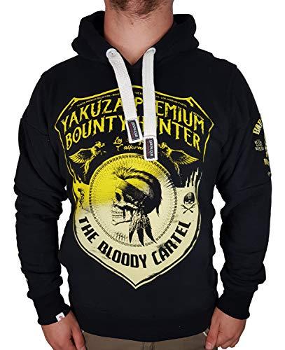 Yakuza Premium Sweatshirt Kapu 2720 schwarz (schwarz, XL)