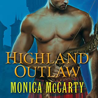 Highland Outlaw audiobook cover art