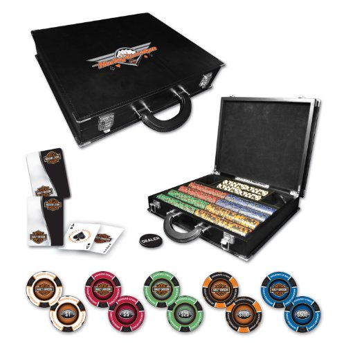 Harley Davidson Professional 500Poker Set