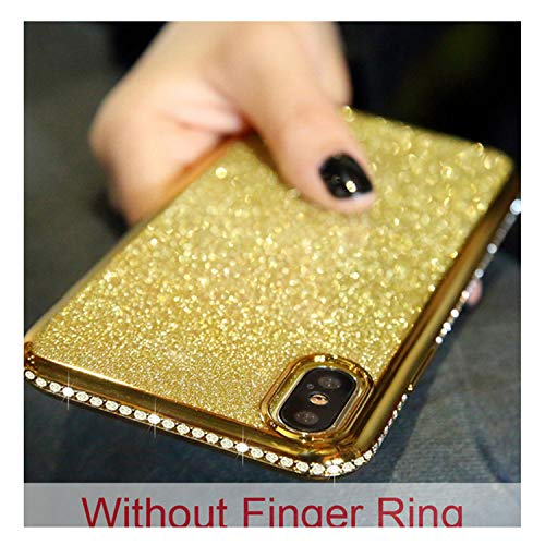 Glitter Diamond Kickstand Case For S8 S9 S10 Plus S10e Note 9 Note 8 For Iphone XS Max XR X 8 7 6 6S Plus Soft TPU Cover God No Stand For Samsung S9