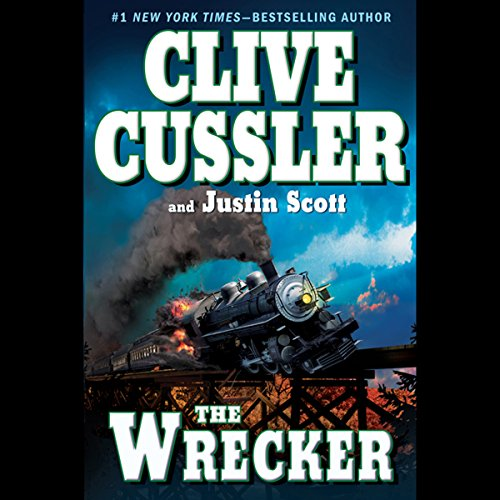 The Wrecker Audiobook By Clive Cussler cover art