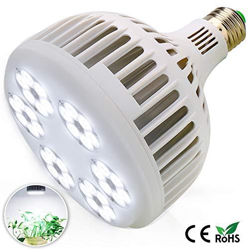 MILYN LED Grow Light Bulb 150W LEDs Daylight Full Spectrum Plant Growth Lamp Plant Light Bulb, E27 Grow Lights for Indoor Plants, Garden, Aquarium, Vegetables, Greenhouse & Hydroponic Growing