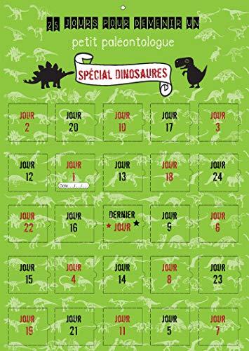 Calendario de Adviento Dinosaurio para niño – Calendario de Adviento – 25 días – imágenes – 25 dinosaurios