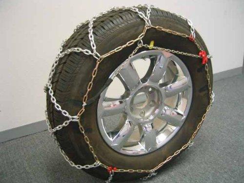 Bikebatts 4wd 490-100 Diamond Grip 16mm Tire Chains for Passenger Cars, SUV's, and Light Trucks