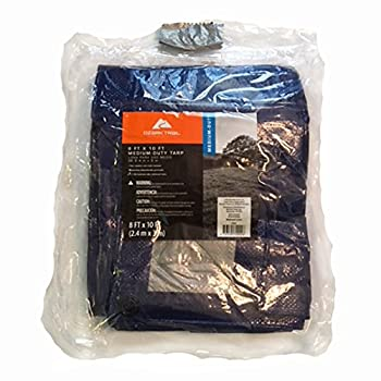 8 ft x 10 ft medium-duty tarp