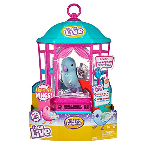 Little Live Pets Bird Cage - Snow Gleam