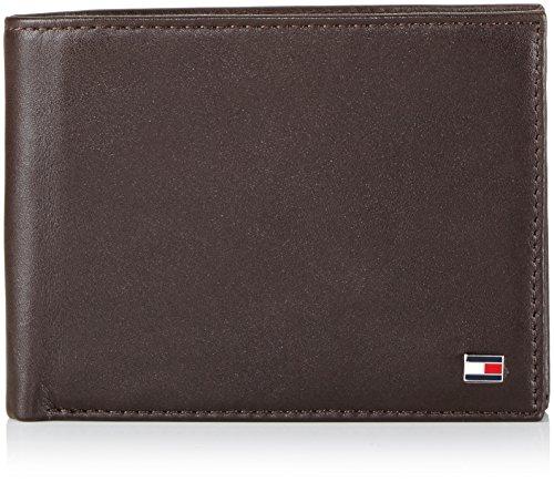 Tommy Hilfiger ETON CC AND COIN POCKET BM56927528 Herren Geldbörsen 13x10x2 cm (B x H x T), Braun (BROWN 204)