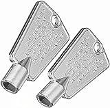 216702900 Freezer Door Keys Compatible with Fri-gidaire Ken-more AP4301346 AP4071414 PS2061565 AP2113733 06599905 08037402 12849 PS1991481(2 Pack)
