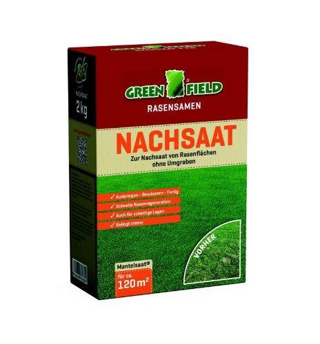 Greenfield Nachsaat Rasensamen | 2 kg Nachsaat