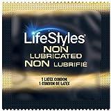 LifeStyles Non-Lubricated Condoms - Quantity - 100 Pack