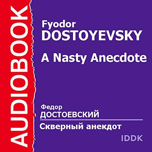 A Nasty Anecdote audiobook cover art