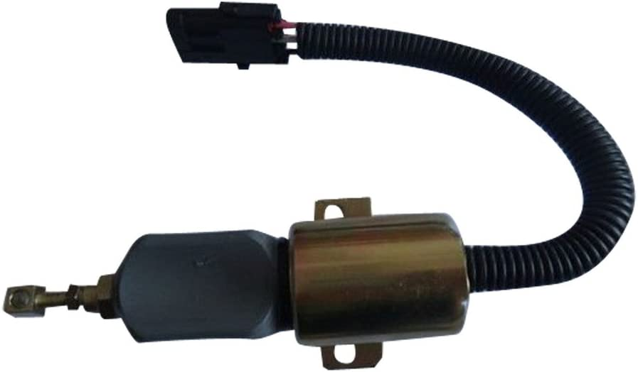 3865274 24V Fuel Shutdown Solenoid - Price reduction SINOCMP for Stop All items in the store C