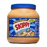 SKIPPY SUPER CHUNK Extra Crunchy Peanut Butter, 64 Ounce