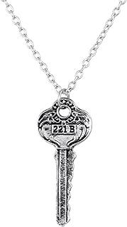 sherlock holmes key necklace