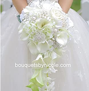 brooch bouquets by nicole