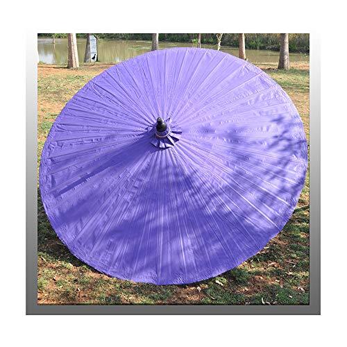 Aly Ombrellone di bambù(6.5FT / 200cm) Ombrello Asiatico per Giardino/Interno/Esterno, Come Decorazione, Resistente allo sbiadimento, con Base