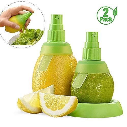 2 ENVASES Jugo de limón con pulverizador Manual de Lima limón Exprimidor Exprimidor Conjunto, Cocina para cocinar Herramientas