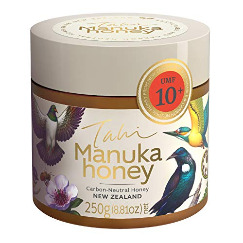 Tahi - Premium Manuka Honig - UMF10+ MGO263+ - Original und zertifiziert aus Neuseeland - 250g - Öko Honig aus Familienbetrieb UMF10+ MGO263+